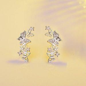 Jewelry - 925 Sterling Silver Charming Butterfly earrings